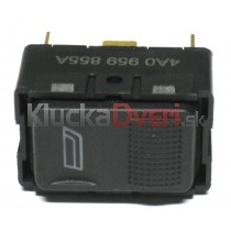 Ovládanie vypínač sťahovania okien Audi 100 4A0959855A