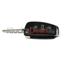 Obal kľúča, holokľúč pre Audi A4