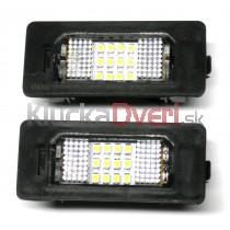 LED Osvetlenie ŠPZ BMW rad 3