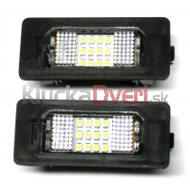 LED Osvetlenie ŠPZ BMW rad 5