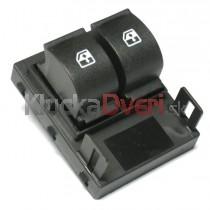 Ovládanie vypínač sťahovania okien Fiat Fiorino III, 735461275