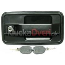 Kľučka dverí vonkajšia predná pravá + zadná pre Peugeot J5