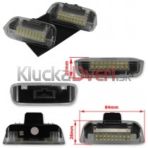 LED svetlo dverí VW Golf VI, 1K0947411A