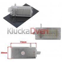 LED Osvetlenie skrinky pred spolujazdcom BMW E84 rad X1
