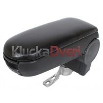 Lakťová opierka VW Passat B5, čierna, eko koža