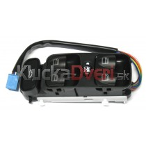 Ovládaci panel vypínač sťahovania okien Mercedes W203 C-classic, 2038210679