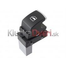 Ovládanie vypínač sťahovania okien VW Golf V 5ND959855, chróm
