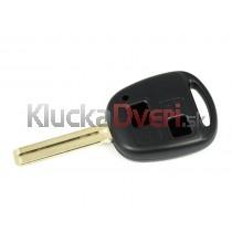 Obal kľúča, holokľúč, autokľúč, 2-tl., Toyota Corolla