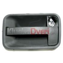 Kľučka vonkajšia pravá - bočné posuvné dvere Fiat Scudo
