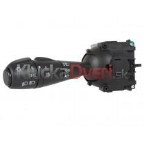 Vypínač, prepínač, ovládanie svetiel, smeroviek, vypínač predných a zadných hmloviek + klakson Dacia Sandero I