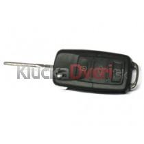 Obal kľúča, holokľúč pre VW Lupo 3-tlačidla