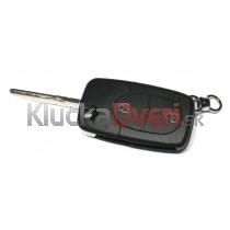 Obal kľúča, holokľúč pre VW Golf dvojtlačítkový