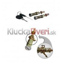Vložka zámku dverí, 2x kľúč VW Sharan 95-00, 1H0837223