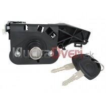 Zámok kufrových dverí Opel Corsa C, Kompletný